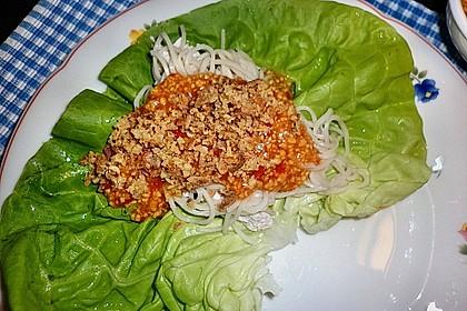 Asiatischer Fingerfood - Salat 8