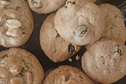 Erdnuss - Rosinen - Cookies 2