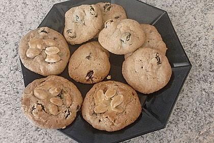 Erdnuss - Rosinen - Cookies 6
