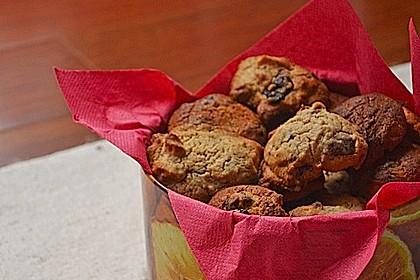 Erdnuss - Rosinen - Cookies 3