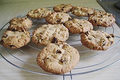 Erdnuss - Rosinen - Cookies 1