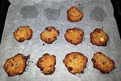 Erdnuss - Rosinen - Cookies 5