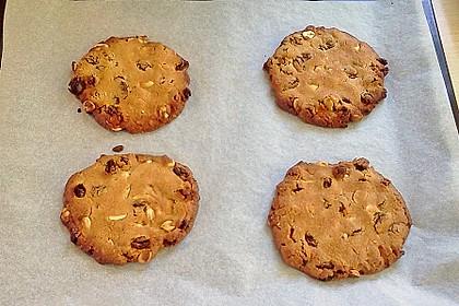 Erdnuss - Rosinen - Cookies 4