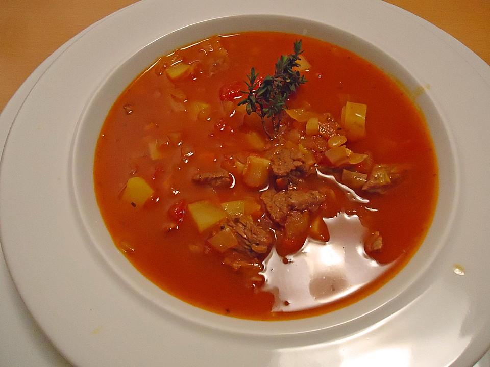 Ungarische gulaschsuppe von pedi for Ungarische gulaschsuppe