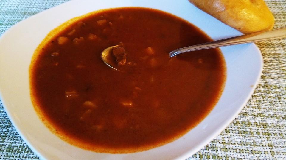 Ungarische gulaschsuppe rezept mit bild von pedi for Ungarische gulaschsuppe