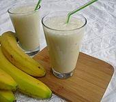 Bananen - Milch - Shake