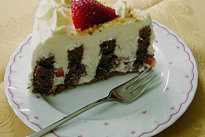 Gewickelte Erdbeer - Tiramisu - Torte 27