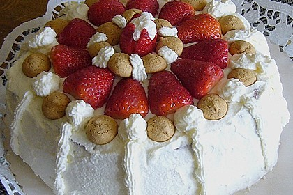 Gewickelte Erdbeer - Tiramisu - Torte 18