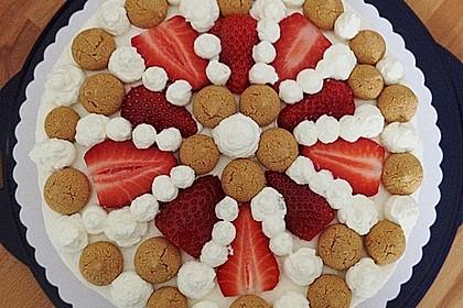 Gewickelte Erdbeer - Tiramisu - Torte 14