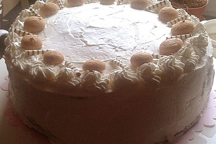 Gewickelte Erdbeer - Tiramisu - Torte 35