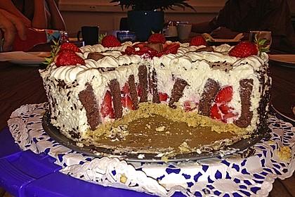 Gewickelte Erdbeer - Tiramisu - Torte 34