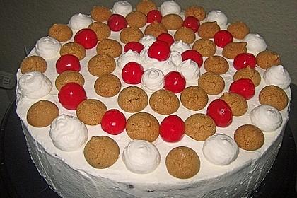 Gewickelte Erdbeer - Tiramisu - Torte 20
