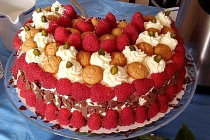 Gewickelte Erdbeer - Tiramisu - Torte 1