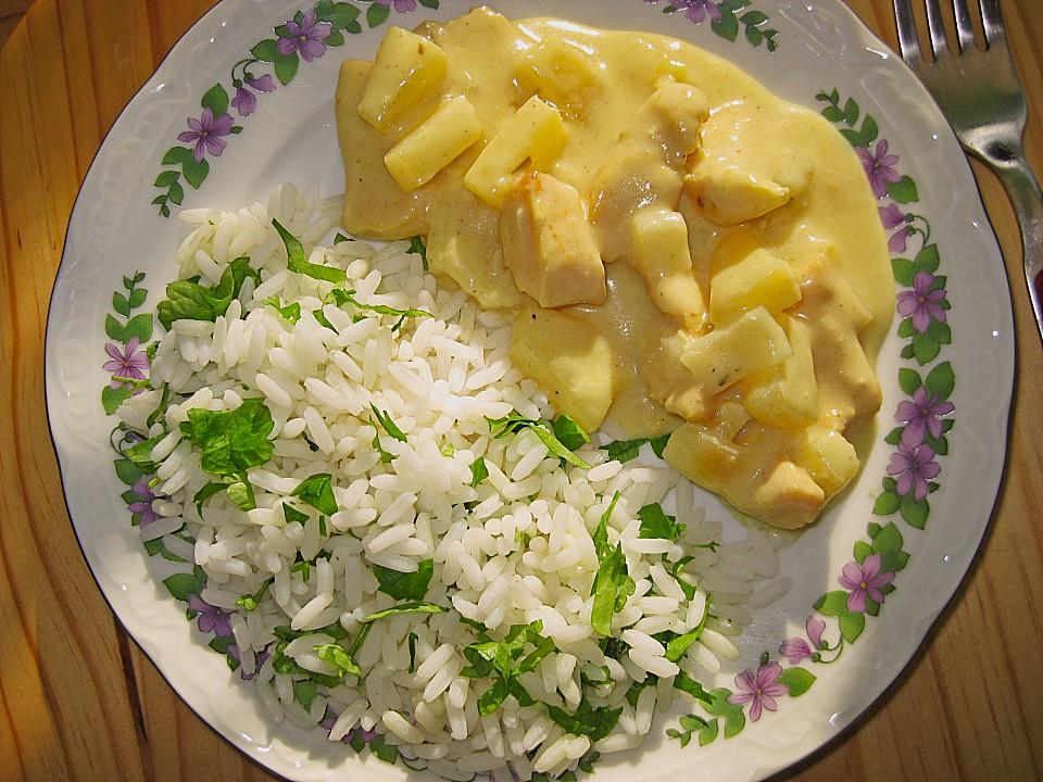 curryhuhn mit ananas rezept mit bild von atena. Black Bedroom Furniture Sets. Home Design Ideas