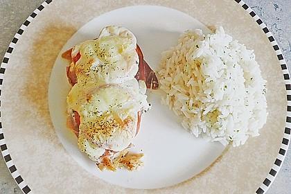 Hühnerfilets mit Prosciutto und Mozarella - gratiniert 2