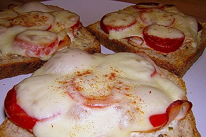 Überbackener Toast 3
