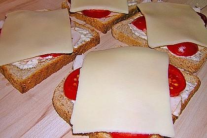 Überbackener Toast 6