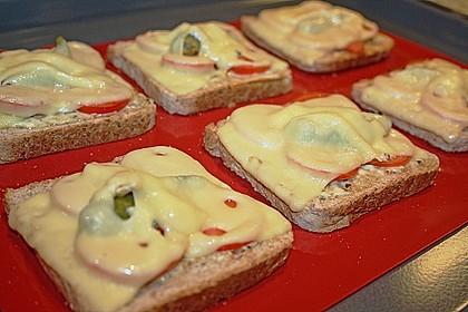 Überbackener Toast 1