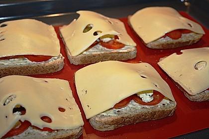 Überbackener Toast 10