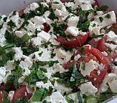 Tomaten mit Feta überbacken