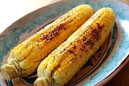 Gegrillte Maiskolben mit Honigbutter 2