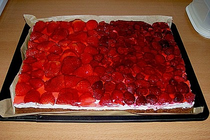 Beerenkuchen mit Mascarpone 13