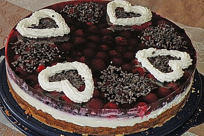 Beerenkuchen mit Mascarpone 18