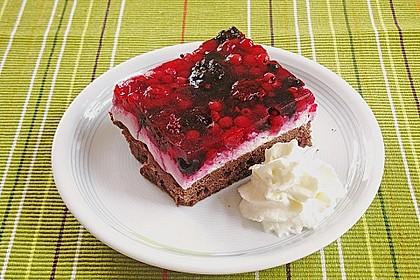 Beerenkuchen mit Mascarpone 2