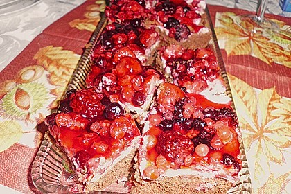 Beerenkuchen mit Mascarpone 32