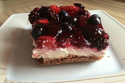 Beerenkuchen mit Mascarpone 25