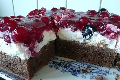 Beerenkuchen mit Mascarpone 0