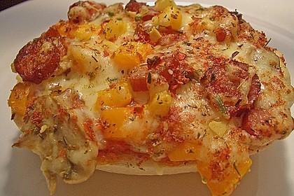 2 Minuten  Pizza-Brötchen 9