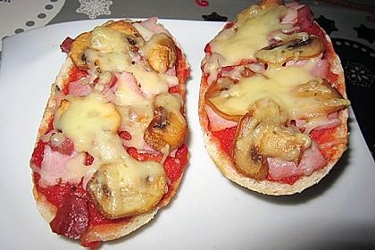 2 Minuten  Pizza-Brötchen 3