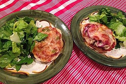 2 Minuten  Pizza-Brötchen 7