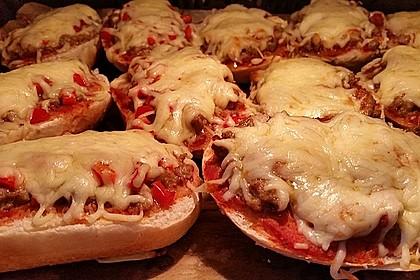 2 Minuten  Pizza-Brötchen 14
