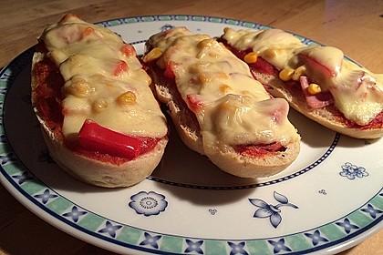 2 Minuten  Pizza-Brötchen 5