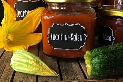 Zucchini - Salsa