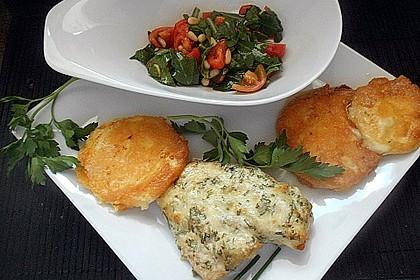 Mozzarella in Parmesan - Eier - Panade 1