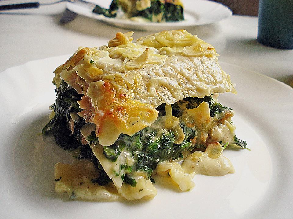 spinat lachs lasagne rezepte suchen. Black Bedroom Furniture Sets. Home Design Ideas