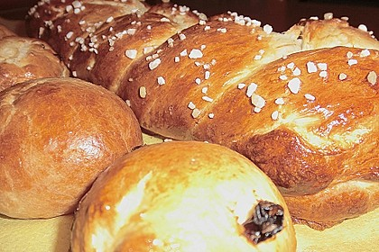 Hefezopf wie beim Bäcker 123