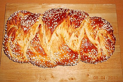 Hefezopf wie beim Bäcker 37