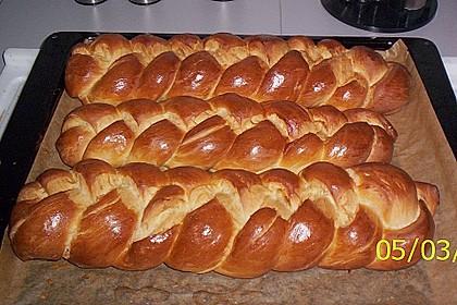 Hefezopf wie beim Bäcker 21