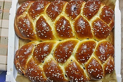 Hefezopf wie beim Bäcker 11