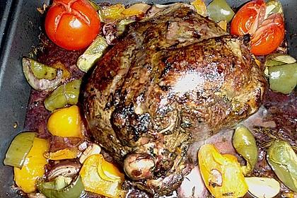 Lammkeule mariniert (Niedrigtemperatur) 1