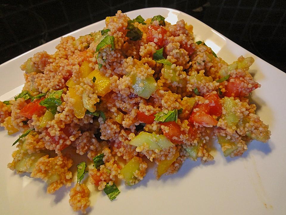 bunter couscous salat rezept mit bild von sheela. Black Bedroom Furniture Sets. Home Design Ideas