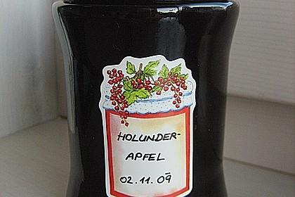 Holunder - Apfel - Marmelade