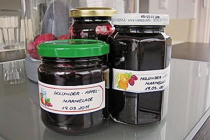 Holunder - Apfel - Marmelade 1
