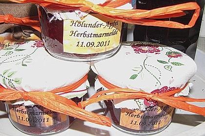 Holunder - Apfel - Marmelade 4