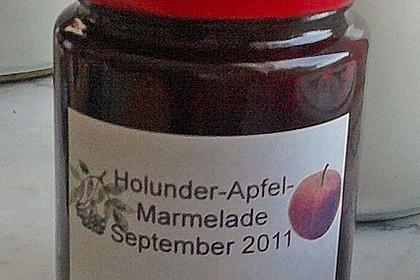 Holunder - Apfel - Marmelade 5