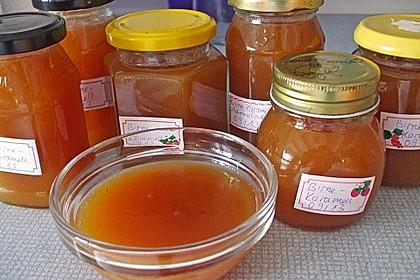 Birnenmarmelade mit Karamell 4